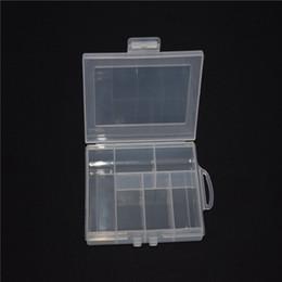 2019 chiari cassonetti di contenitore in plastica Scatole vuote 6 Vano plastica trasparente della scatola per gioielli di arte del chiodo Contenitore Sundries Organizer chiari cassonetti di contenitore in plastica economici