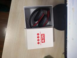 Canada Casque Bluetooth Casque sans fil hifi studio true Écouteurs stéréo avec prise en charge du microphone 3.5mm AUX TF Card 047 Pour iPhone Offre
