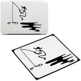 """Decalques em vinil macbook on-line-Padrão de pesca adesivo de vinil decalque para apple para macbook 13.3 """"15.4"""" tampa da pele do laptop 30"""