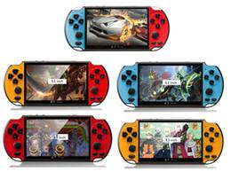 Новые игры gba онлайн-НОВЫЙ 8 ГБ X7 PLUS Портативный Игровой Плеер 5.1-дюймовый Большой Экран PSP Портативная Игровая Консоль MP4-Плеер с Камерой ТВ-Выход TF Видео для GBA NES Game