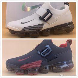 Zapatos casuales a prueba de agua online-2019 nuevos zapatos de encaje no cojín de aire suave de los zapatos de los hombres cómodos zapatos junta impermeable populares CALIENTE nuevos disponibles Azul 40-45