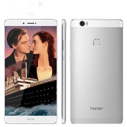 разблокированные смартфоны 3g wifi Скидка Оригинальный Huawei Honor Note 8 4G LTE мобильный телефон Kirin 955 Octa Core 4GB RAM 32GB ROM 6.6 дюймовый экран 13.0 MP Fingerprint ID Smart Mobile Phone