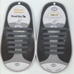 laços elásticos para correr Desconto V-tie design de moda unissex criativo atlético correndo sem gravata sapato laço elástico preguiçoso cadarços de silicone todos os tênis para adultos (16pcs) idéia