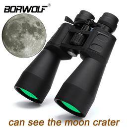 telescopio de alto zoom Rebajas Borwolf 10-380X100 Ampliación de gran alcance Zoom de largo alcance 10-60 veces Telescopio de caza Binoculares HD Professiona Zoom C18122601