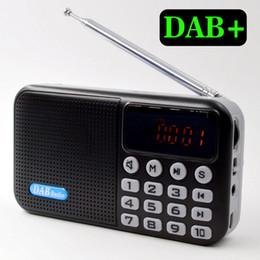 gravador de rádio digital Desconto Multifuncional Bluetooth Speaker Display LED TF Cartão Digital Radio Music Player USB Recarregável Portátil Mini Handheld Recorder