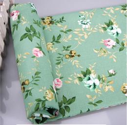 Mestiere di panno di cotone online-Panno di tela collage di materiale pesante mestiere, panno sfuso di cotone, panno di stoffa striscia rotto fiore cuscino vecchio panno grossolana di cotone
