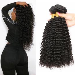бразильские человеческие волосы афро Скидка Уникальный бразильский наращивание человеческих волос вьющиеся переплетения оптом необработанные девственница реми пучки человеческих волос бразильский глубокий афро странный вьющиеся