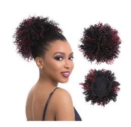 extensions de cheveux clip noir ombre Promotion Extensions de cheveux courts de mode chaude 8