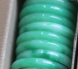 echte smaragde Rabatt 100% natürlicher feiner Damenschmuck grünes Jade Armband mit einem Zertifikat echte natürliche grüne Jade Smaragd Armbänder
