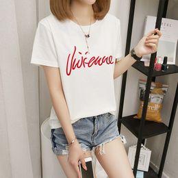 shorts de diversão Desconto 2019 verão moda feminina harajuku onda tamanho grande Japonês imprimir divertido de manga curta T-shirt tops tees new wave O Pescoço T-shirt S-2XL