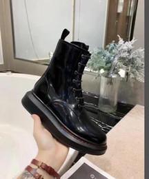 Canada Style féminin Martin bottes mode bottines LACE-UP bottines en cuir véritable robe de soirée femmes taille 34-41 cheap dress shoe lace styles Offre