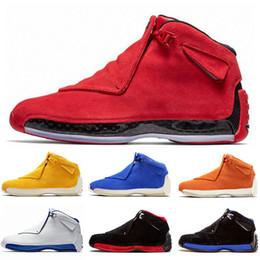 2020 calçados tamanho 18 homens Nova chegada 18 18s XII Tênis de basquete Preto Real Cool Toro Homens reais Esporte Grey Basketball Sport sapatos Sneakers Tamanho US 8-13 calçados tamanho 18 homens barato