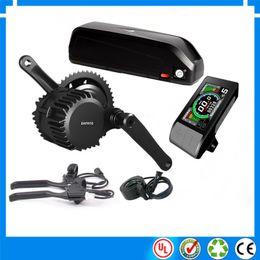 Vélo électrique à mi-course en Ligne-UE US aucune taxe kits de moteur de vélo électrique Bafang BBSHD mi lecteur d'entraînement 48V 1000W avec batterie Li-ion eVike 48V / 52V 17.5Ah