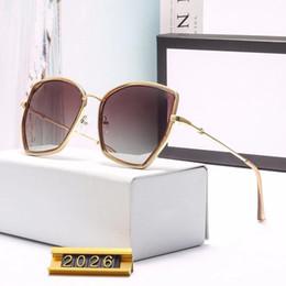 2019 gafas de sol de invierno gucci GG2026 nuevos lentes de protección ocular de la marca de moda de invierno Gafas de sol unisex para conducir y viajar gafas de sol de lujo con estuche rebajas gafas de sol de invierno