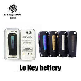 Llave de visión online-Batería clave Cartuchos de Vape 350 mah Precalentamiento 3 Configuración Voltaje 2.4-3.2-4.2V Para todos los cartuchos de Vape VS Vision Spinner sin DHL