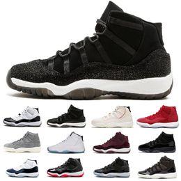 newest 04c0d 368a9 Nike Air Jordan 1 4 6 11 12 scarpe da basket alte da uomo Scarpe sportive  da esterni rosse nere bianche arcobaleno scarpe da designer di Chicago 11s  ...