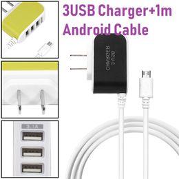 m9 зарядное устройство Скидка 3usb Candy Strip Charger LED Light Smart Strip Line + 1M Android Data Cable зарядное устройство для Samsung Galaxy Note, HTC One M9, HTC + OPP сумка