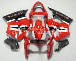 Обтекатель для красного ниндзя kawasaki zx6r онлайн-Высокое качество Новый ABS мотоцикл велосипед обтекатели, пригодный для kawasaki Ninja ZX6R 636 2000 2002 ZX-6R 00 02 кузов набор пользовательских обтекатель красный