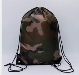Camouflage Oxford Sac de cordon d'impression 3D Impression Femmes Hommes Unisexe Paquet de stockage de voyage Cordon Sac à dos dc308 ? partir de fabricateur