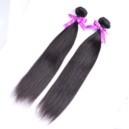 50% de descuento! 100% de calidad superior armadura del pelo humano sin procesar barato brasileño peruano malasio indio extensiones de cabello liso 3 paquetes desde fabricantes