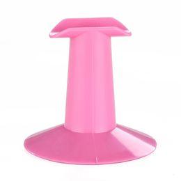 подставка для косметики Скидка Professional Portable Finger Stand Rest Holders Nail Art Painting Hard Plastic  Support Tool Pink Random