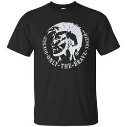Canada Tee shirt Diesel Homme ACHEL Mohawk Logo Noir Marine S-3XL supplier navy short sleeve shirt Offre