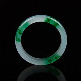 Bracelet en jade de fleurs vertes certifiées à 100% naturel fait à la main 56-62mm ? partir de fabricateur