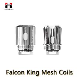 Paquete de reemplazo online-Falcon King Mesh Coils M1 + 0.16ohm M-Dual 0.38ohm King Núcleos de repuesto para los atomizadores del tanque de halcón submarino de Falcon de Horizon 3pcs / pack 100% auténticos