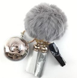 Petit cadeau cadeau pour porte-clés en gros fleur rose porte-clés ? partir de fabricateur