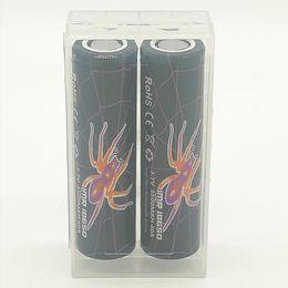 3.7v chargeur lipo Promotion 100% haute qualité BLACK WIDOW 18650 batterie 3500mAh 3.7V 40A 18650 batteries rechargeables au lithium batterie Fedex livraison gratuite