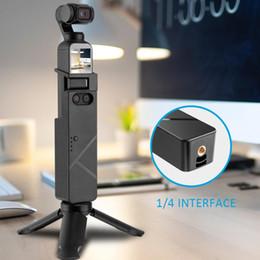 2019 штативы Стабильная и анти-падение дизайн зарядная ручка штатив защитная рамка зарядное устройство для Osmo карманный карданный камера дешево штативы