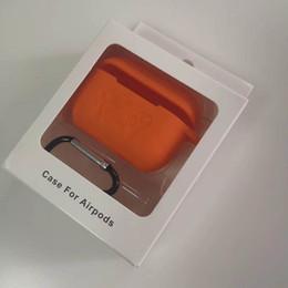 silikon-kopfhörer Rabatt Für Airpods Pro Case 2019 weiche TPU Silikon-Kasten drahtlosen Bluetooth-Kopfhörer-Multicolor-Schutzüberzug für Air Pods 3 mit Haken Karabiner