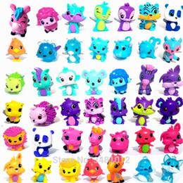 Animali del fumetto Modello Horse Dog Mini Pvc Action Figures Miniature Hatch Figurine Bambole Da Collezione Giocattoli Per Bambini Per Bambini Y190604 supplier mini animal figurines da mini figurine animali fornitori