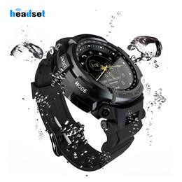 Orologio digitale lungo online-MK28 Sport Smart Watch Life Promemoria chiamate Bluetooth impermeabile Orologio digitale Tempo di standby lungo SmartWatch per iOS Android