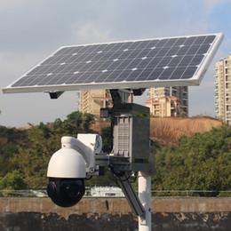 Canada Alimentation solaire sans fil 3G 4G Fente pour carte SIM Carte de sécurité ptz IP Caméra 18X Zoom optique Sony Super Star Lumière 1080P CCTV 64G Carte d'enregistrement extérieure Offre