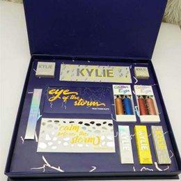 2019 brilho labial mini-batom atacado Temos o estoque Kylie férias Edição Colecção pacote de férias caixa grande coleção cheia de férias Limited Edition Makeup Kit Big Gift Box Set