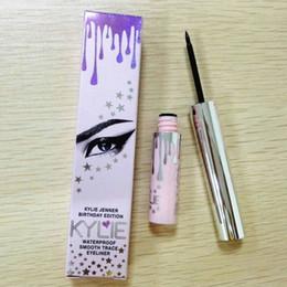 Cils uniques en Ligne-Maquillage mascara cils maquillage des cils doublure rose délicat doux et imperméable stylo crayon pour les yeux truffé dazzle fluide eyeliner noir