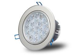 Plafond de 18W LED Dimmable LED Downlight Down lumière haute luminosité garantie Epistar Garantie 3 ans CE RoHS bonne qualité LLFA ? partir de fabricateur