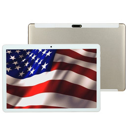 2019 tienda de tabletas 2019 Real 32GB ROM 10.1 'Tabletas Tablets Android 7.0 Tableta Google Play Store Computadora portátil SIM Niños 3G WIFI Tablet PC GPS teléfono bluetooth tienda de tabletas baratos