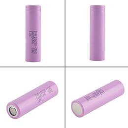 2019 3.7v chargeur lipo 18650 Batterie pour Samsung 25r rechargeable Chargeur de batterie pour VTC5 VTC4 taux de décharge 2500mah 20A Batterie 20A 35a MAX