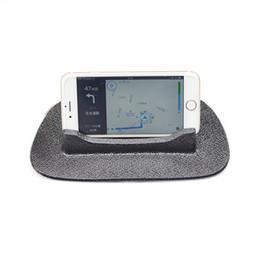 держатель силиконовой панели Скидка Прямая поставка универсальный приборной панели автомобиля противоскользящие держатель силиконовая подставка для сотового телефона GPS V-Best