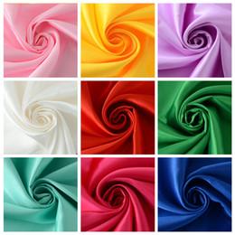 2019 розовый измеритель ткани Ширина 1,5 метра, длина 1 метр атласной ткани для свадебных поделок, голубой розовый красный свет фиолетовый золотой цвет подражали шелковой ткани Tecido ткани дешево розовый измеритель ткани