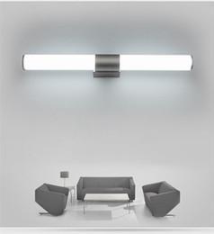 Mural de baño Lámpara de espejo Led luces LED gabinete moderno minimalista  25 cm 12 W 40 cm 16 W 55 cm 22 W barra blanca tubo acrílico lámparas de  pared ... f6d87d88a078