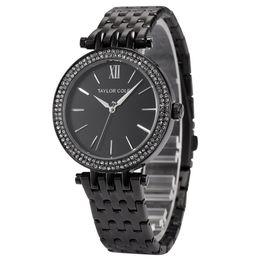 Diamant Ring Kalender Uhr Stahlgürtel Quarzuhr Einfache Wasserdichte Casual Handgelenk Für Männer Und Frauen Männer Uhren von Fabrikanten