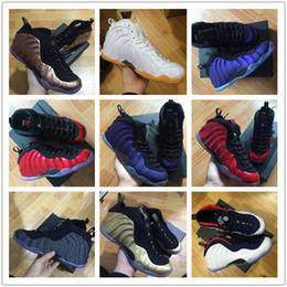 2018 Legion Yeşil Patlıcan Erkekler Penny Hardaway Basketbol Ayakkabı Parlaklık Ada Metalik Altın Köpükler Mens Eğitmenler Spor Sneakers Boyutu 8-13 supplier penny hardaway shoes size 13 nereden penny hardaway ayakkabıları boyutu 13 tedarikçiler