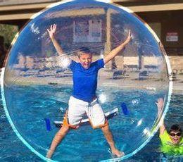 Ücretsiz Kargo 2 M PVC Şişme Insan Hamster Top Su Yürüme Topu Şişme Waterball Zorb Topu Topları Dev Sisme nereden