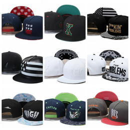 a1dca2da4dc wholesale retail Cayler   Sons X FUKIN PROBLEMS high smoke 80 s usa flag  Baseball Caps men women 100% Cotton gorras bones Snapback Hats