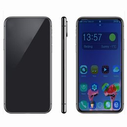 telefon tri sim Rabatt Goophone Handy XS MAX X PLUS 6,5 Zoll Gesicht ID 1G / 4G Zeigen Sie gefälschte 4G LTE 512 GB entsperrt Smartphone versiegelt