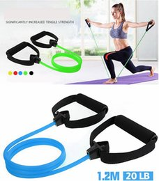 force kit Coupons - Resistance Bands 5color Pull Ropes Fitness Exercises Elastic Tensioner Isolation Belt Set Adjustable Pulling Force Kit Home Yoga