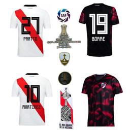 Canada Maillots de soccer de niveau supérieur 2019 2020 de River Plate Home nom personnalisé numéro MARTÍNEZ BALANTA CAVENAGHI SCOCCO SOSA maillots de football fotbul cheap custom number plates Offre